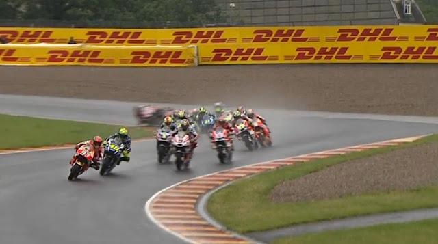 Jalannya Balapan dan Foto-Foto MotoGP Sachsenring, Jerman