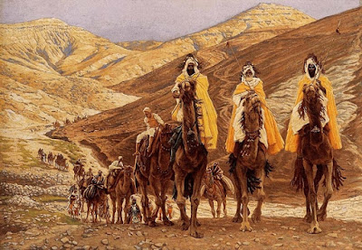 """The Wise Men Come to Worship"" by James Tissot"