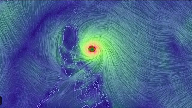Tufão Noul se torna mais poderoso ao se aproximar das Filipinas