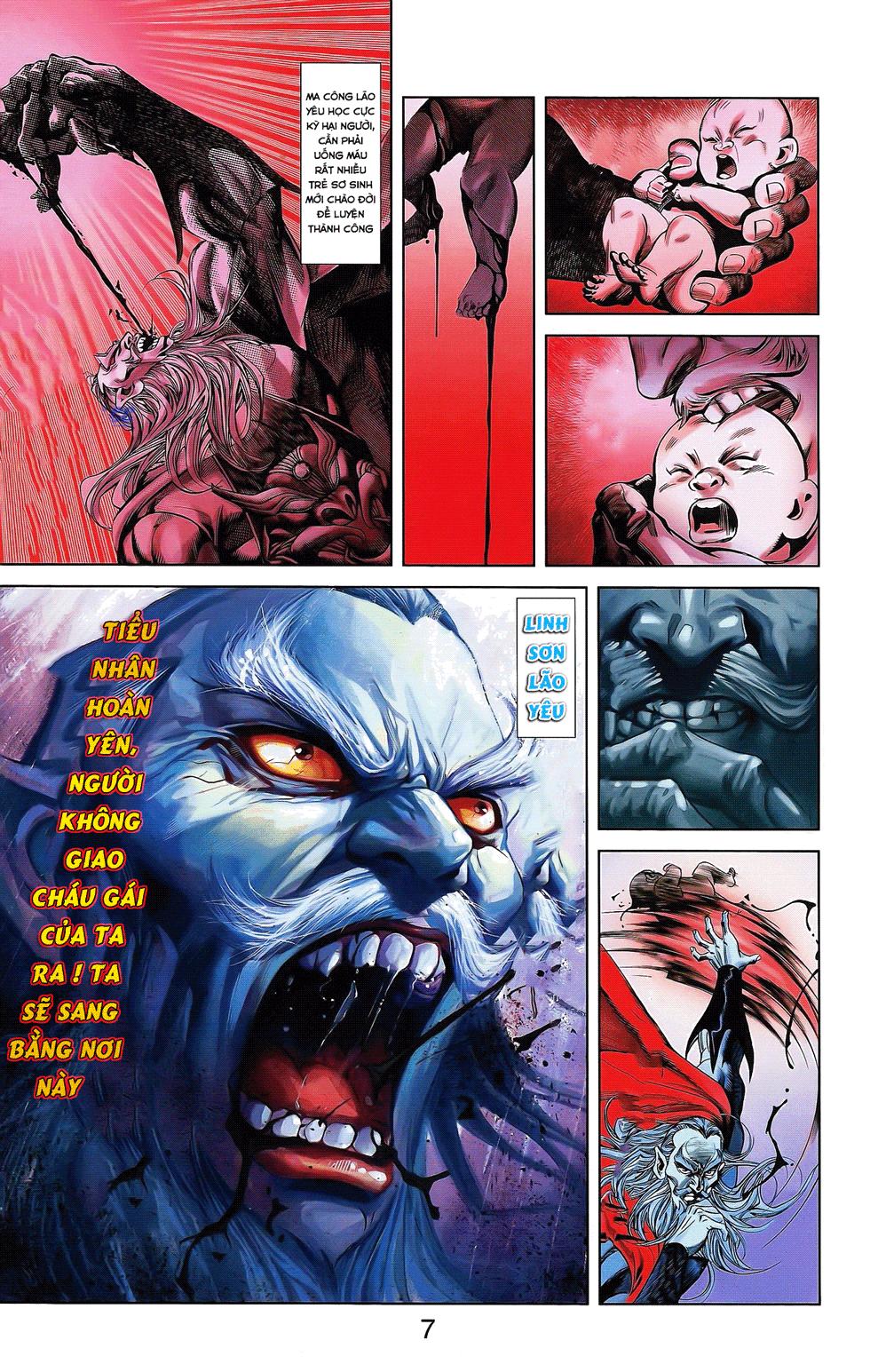 Tần Vương Doanh Chính chapter 17 trang 3