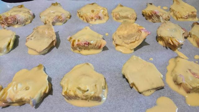 carciofi pastellati