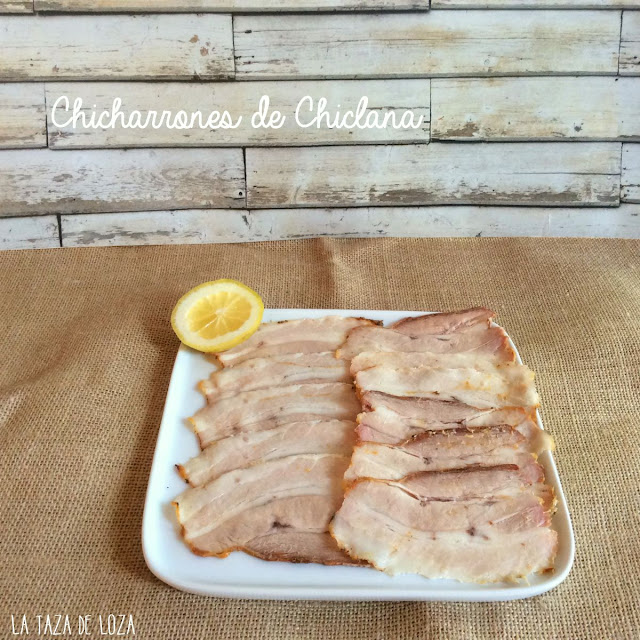 Chicharron panceta de cerdo fresca