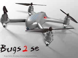 Spesifikasi Drone MJX Bugs 2 SE - OmahDrones