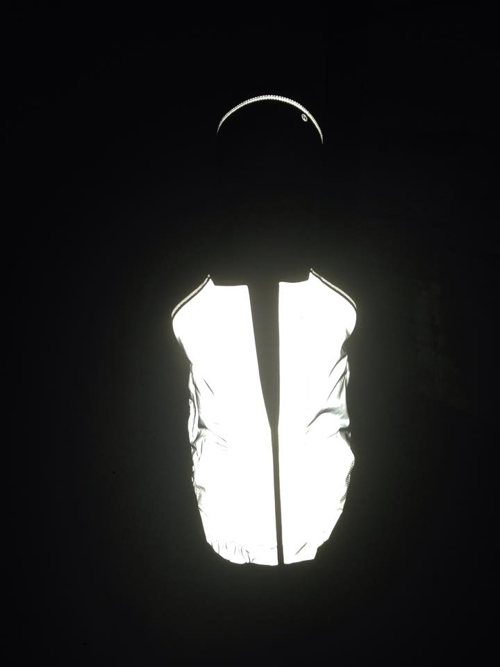 lululemon reflective fly away tamer bright bomber jacket