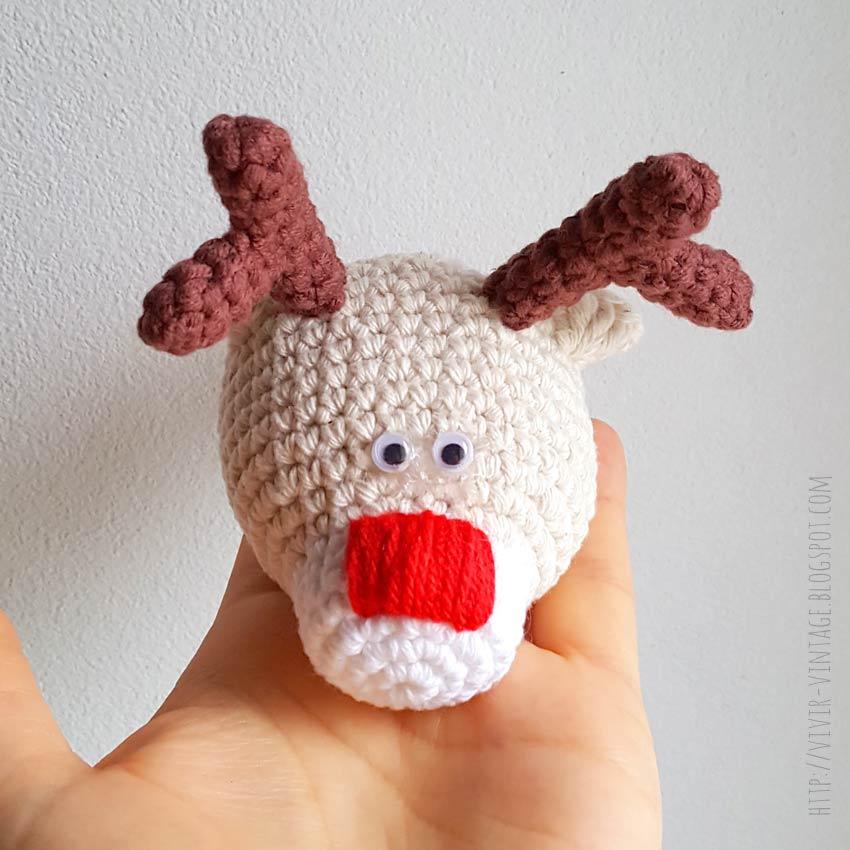 Patrones amigurumis navideños gratuitos | Amigurumi navideño ... | 850x850
