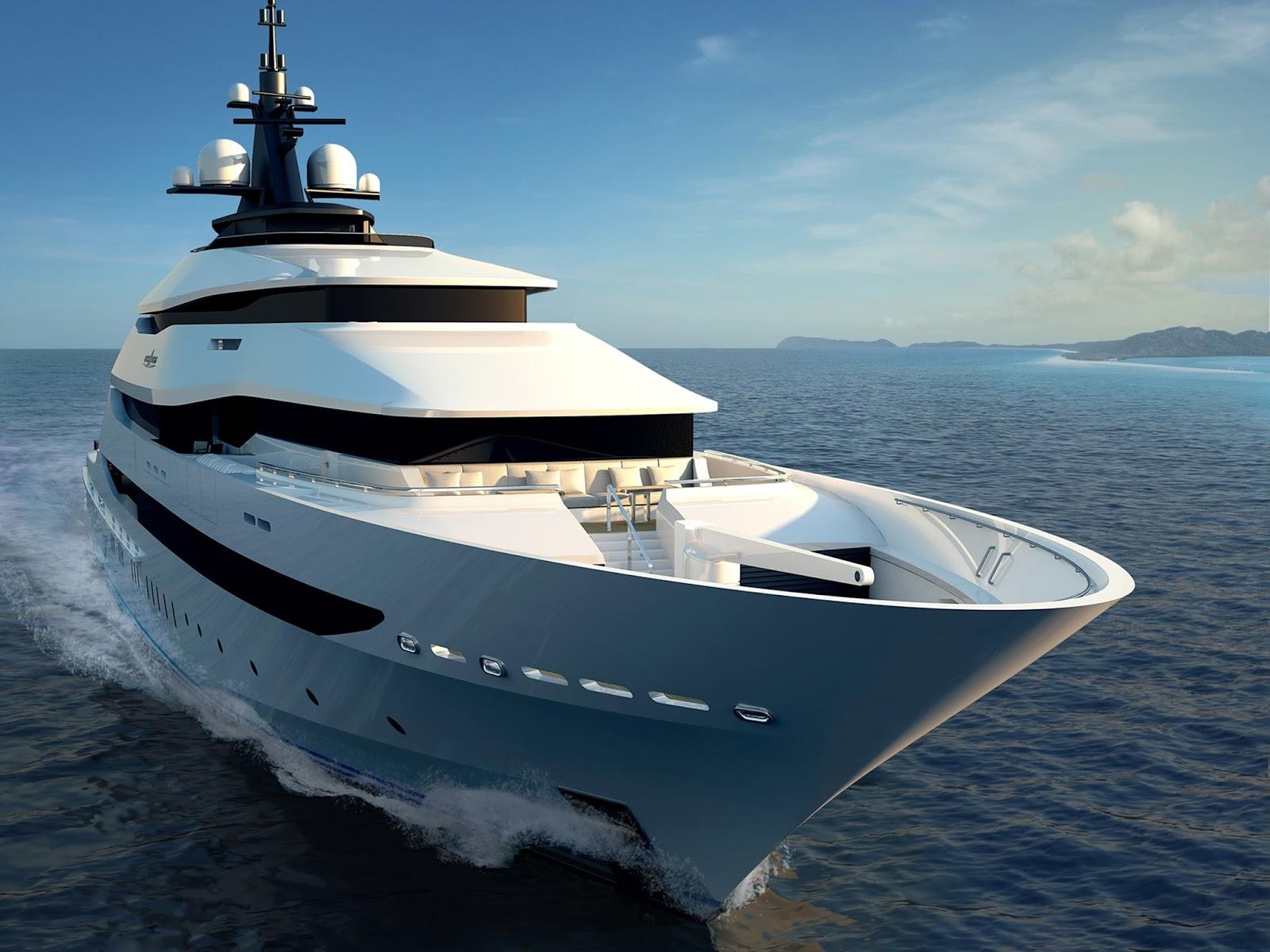 luxury super yacht wallpaper - photo #1