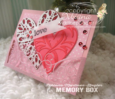 valentine's pocket card side view