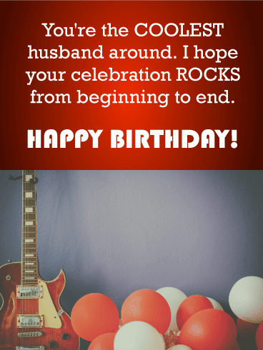 Send this You've Got That Spark – Happy Birthday Wishes Card for Husband