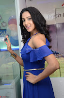 Priya Shri in Spicy Blue Dress ~  Exclusive 47.JPG