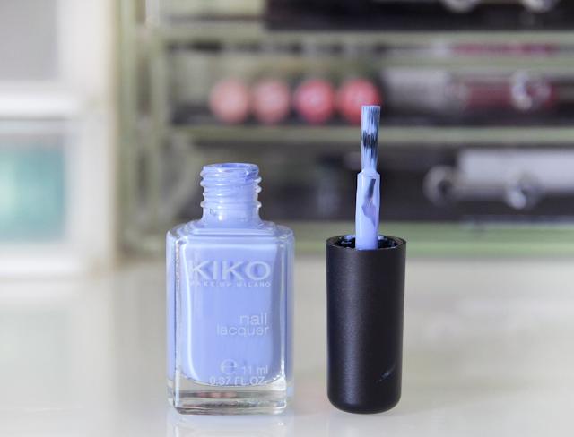 Kiko Nail Lacquer 338 Light Lavender