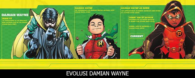 Damian Wayne, Robin sekaligus keturunan Batman