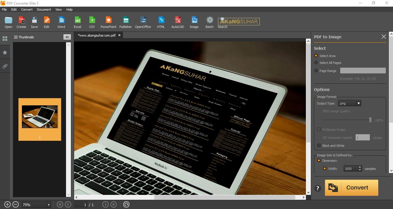 Download PDF Converter Elite 5.0.6.0 Full Version Terbaru