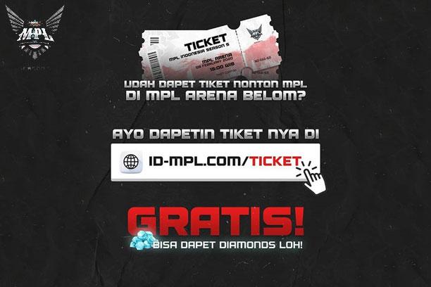 Tiket MPL Season 5