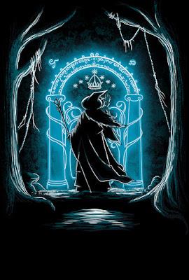 Gandalf, Di amigo y entra. Puerta de Moria