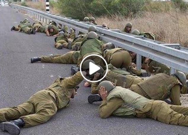 seberapa pengecut tentara israel