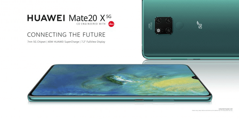 Huawei Mate 20 X 5G with Balong 5000 modem goes official!