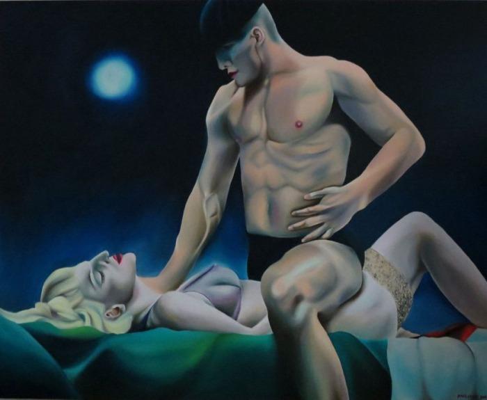 Сербский художник. Ana Cvejic