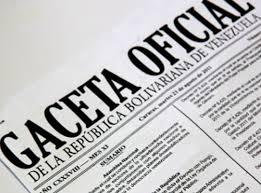 Léase nuevo decreto presidencial publicado en Gaceta oficial Nº  41121