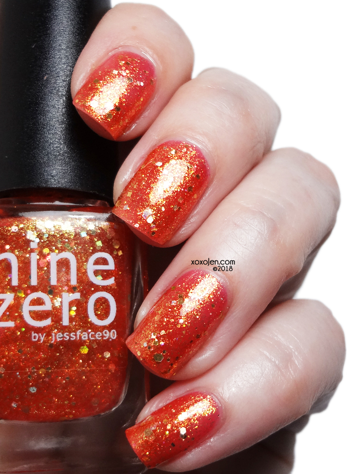 xoxoJen's swatch of Nine Zero It's Not The Destination
