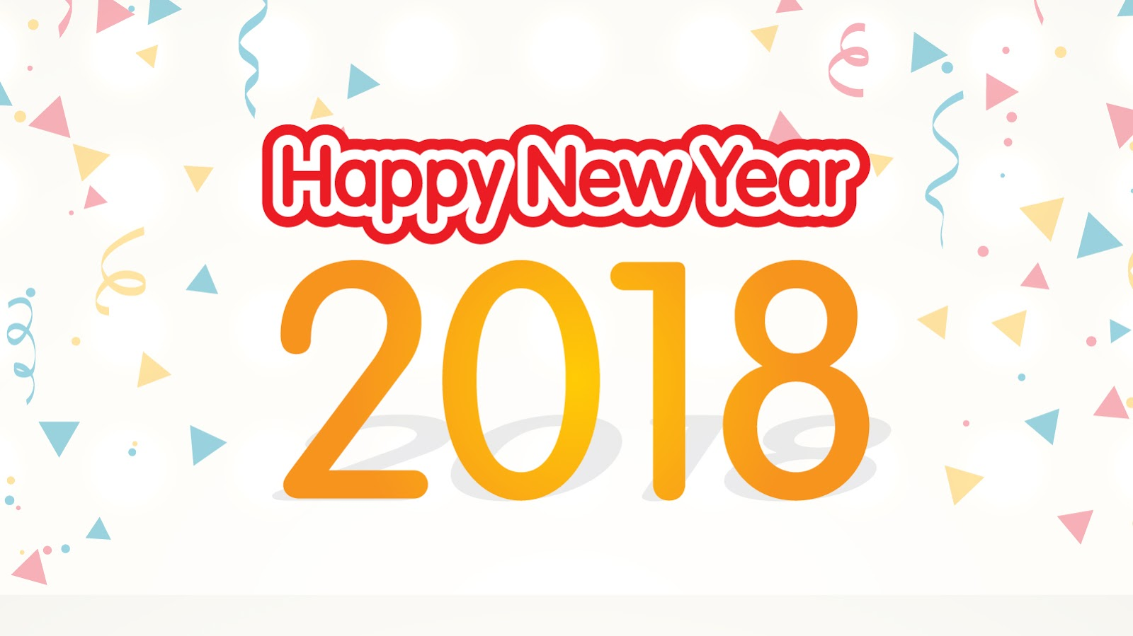 happy new year 2018 facebook cover dp