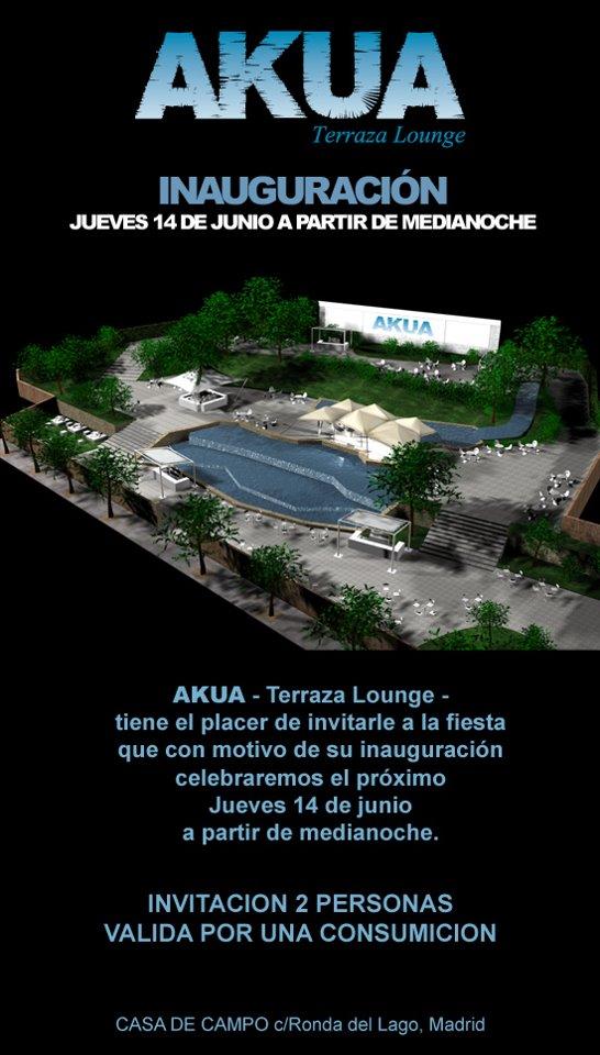 Rr Pp Discoteca Terraza Akua Madrid C Ronda Del Lago Casa