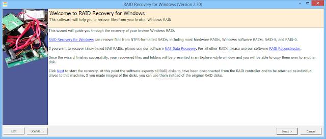 تحميل برنامج استرجاع الملفات المحذوفة RAID Recovery for Windows