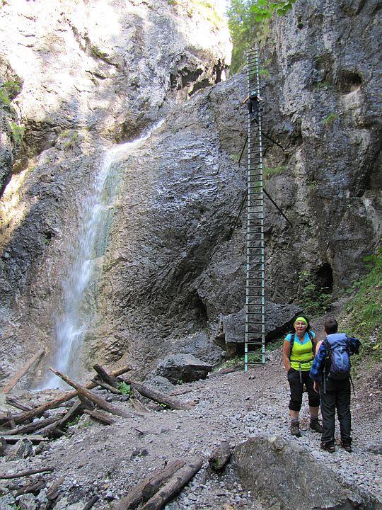 Piecky. Wielki Wodospad (słow. Veľký vodopád).