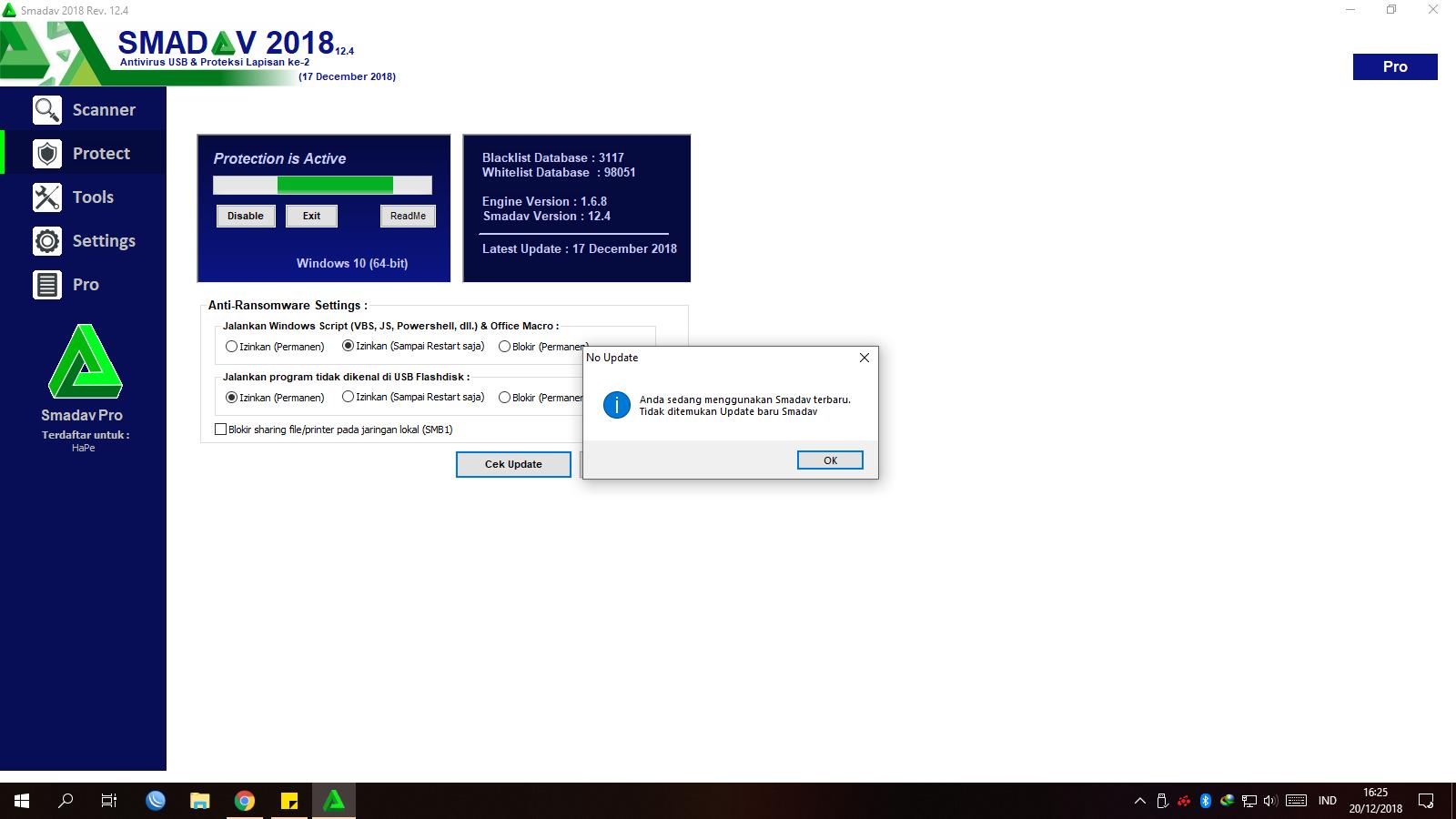 HankyPatrick- Hack [HP Hack]: Smadav PRO 13 0 1 Terbaru 13