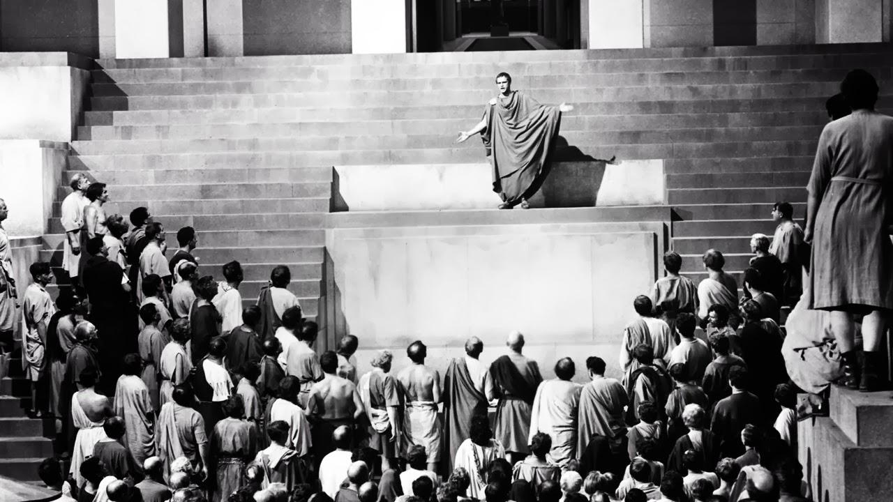 Risultati immagini per julius caesar 1953