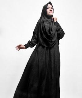Model Baju Gamis syari