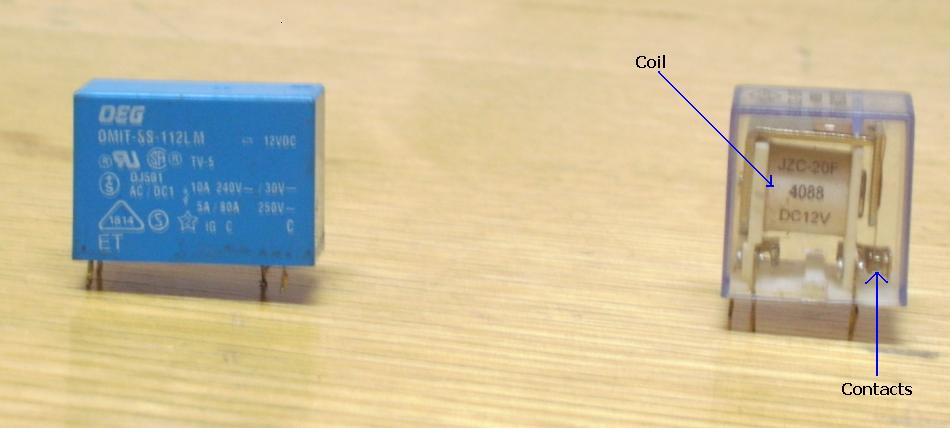electronics repair made easy: Relay found in switch mode power ...