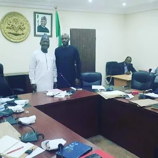 Entertainment: Tuface visits Gov. Ortom over herdsmen attack