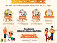 [Gratis] Jingle Cover Competition 2018, Hadiah Puluhan Juta