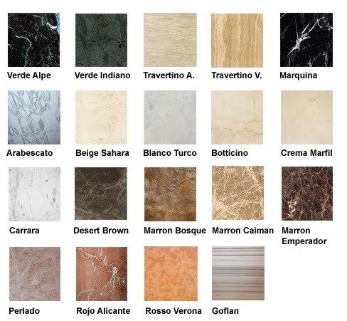 Excelente Colores De Marmol Elaboración - Ideas para el hogar ...