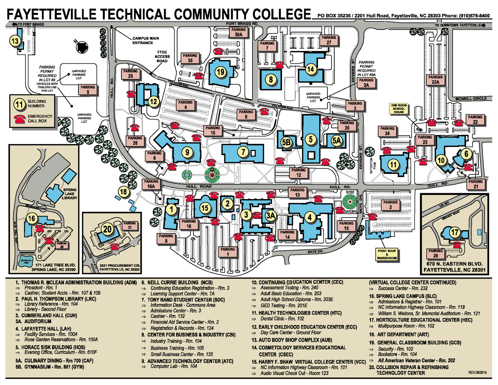 Gumberg Science: Local Community Colleges Classes