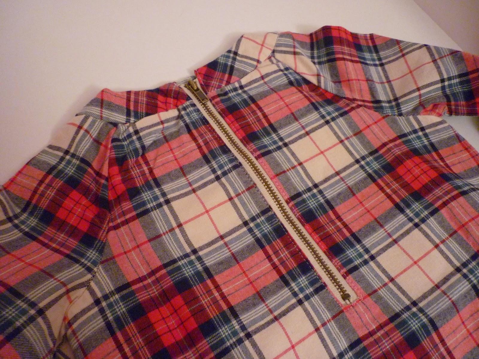 robe écossaise vue de dos baby GAP