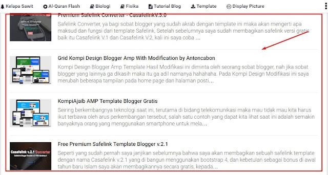 Cara Membuat Daftar Isi Sederhana Tapi Keren Seperti Blog Antoncabon