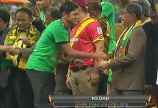 Penalti Tentukan Kedah Juara Piala Malaysia 2016