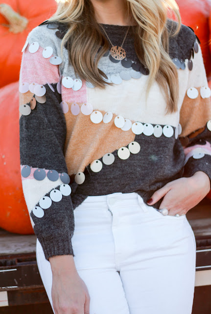 tassel sweater from shein