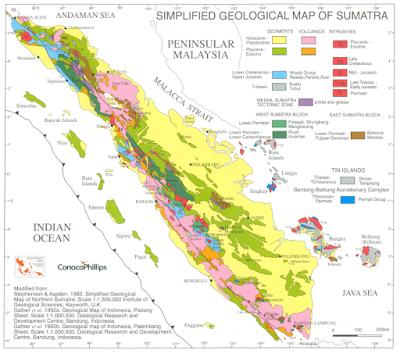 Simplied Geological of Sumatra