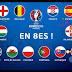 Los 8vos. de Final de la Eurocopa 2016