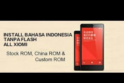 Cara Menambah Bahasa Indonesia di Android Xiaomi MIUI China Tanpa Root