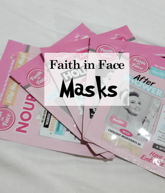 ™as told by shanee: Faith in Face Hydrogel Masks