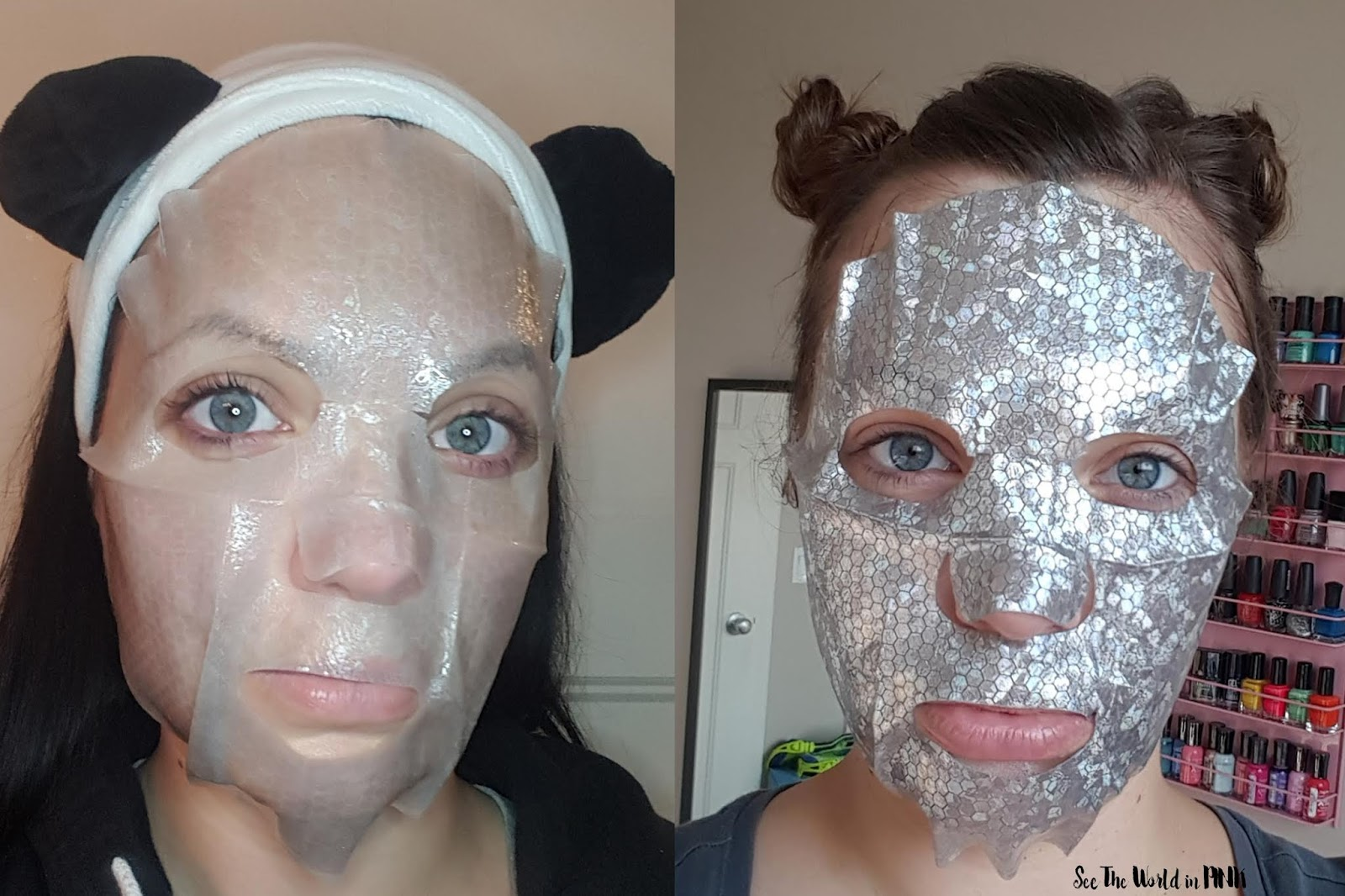 Skincare Sunday #CBBGetsSheetFaced A'pieu silk blanket mask silver cocorico edition