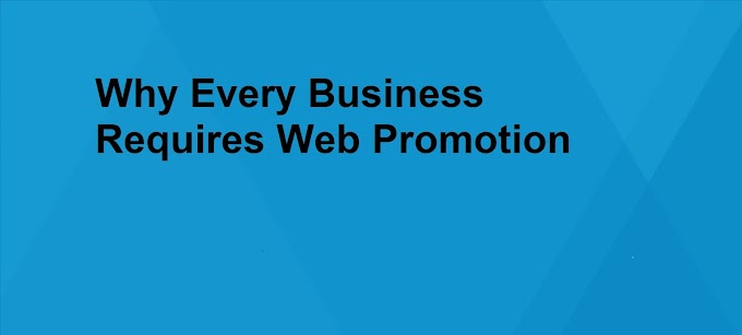 Why Every Business Requires Web Promotion