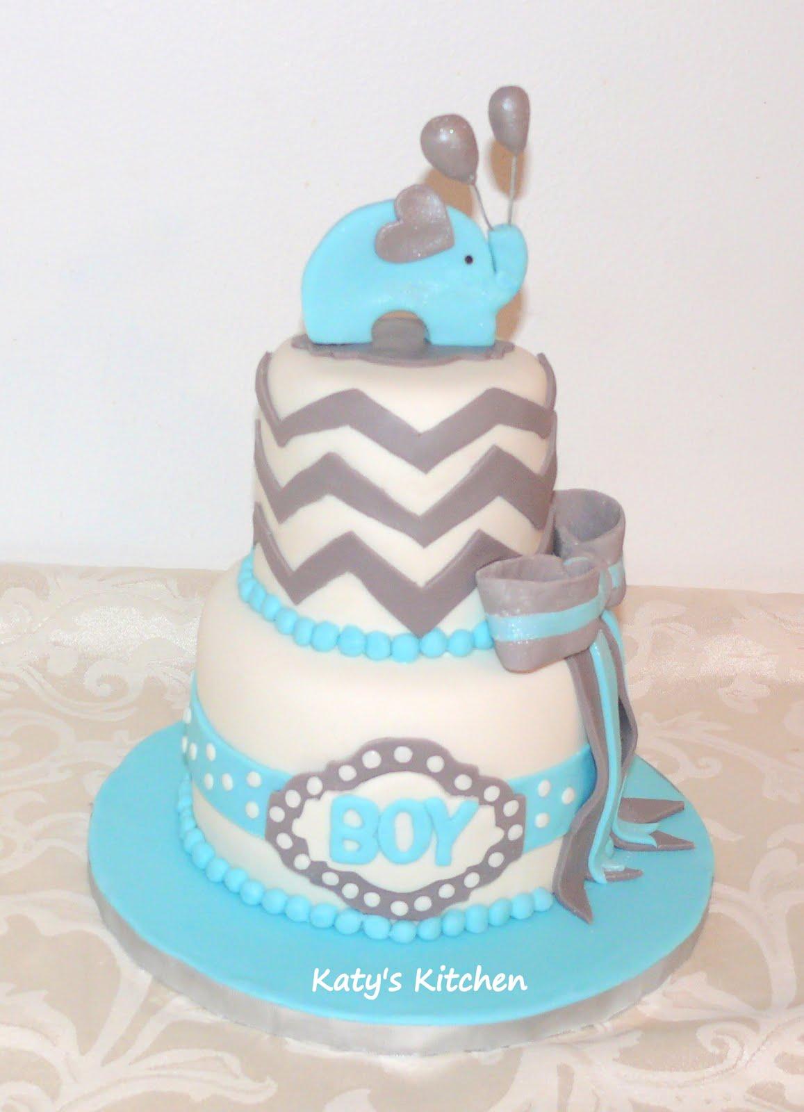 Baby Shower Cakes Utah ~ Katy s kitchen elephant baby shower cake
