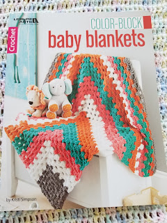 Crochet Color-Block Baby Blanket Patterns