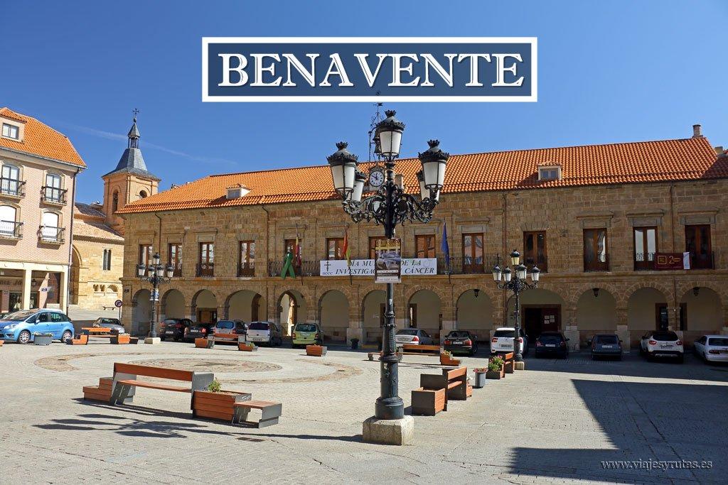 Ruta por los principales monumentos de Benavente
