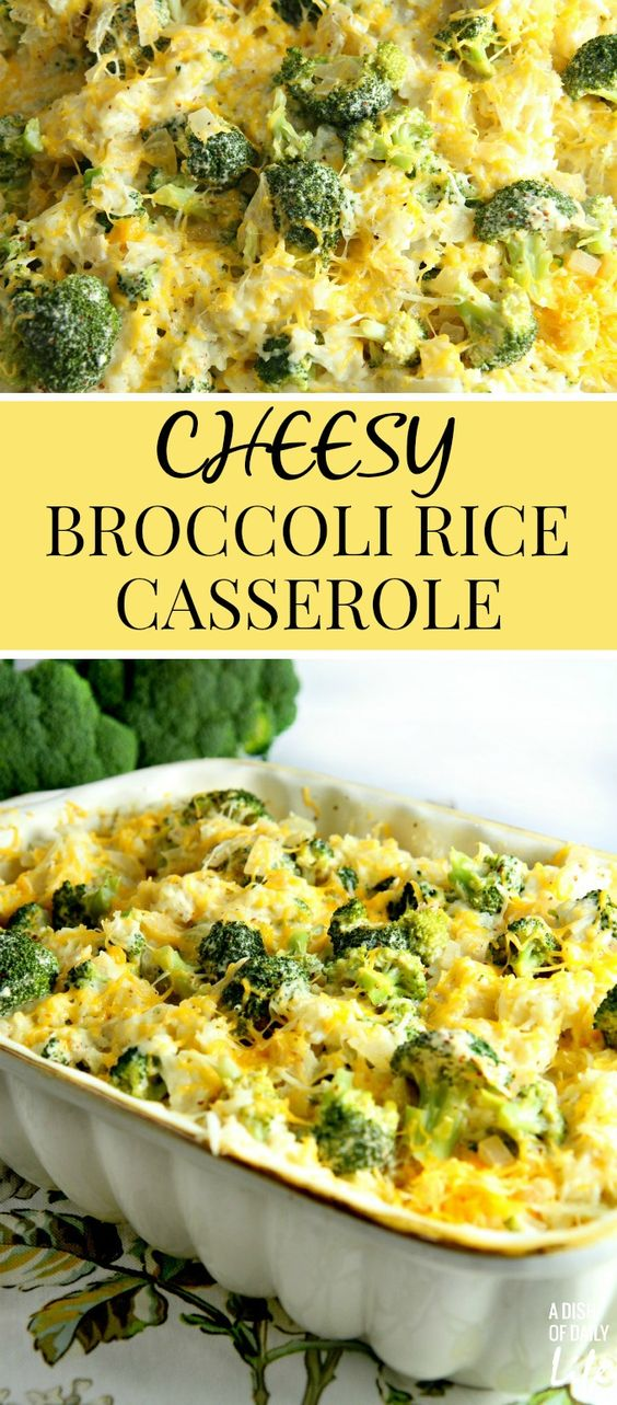 Chicken With Rice Broccoli And Cheese Casserole