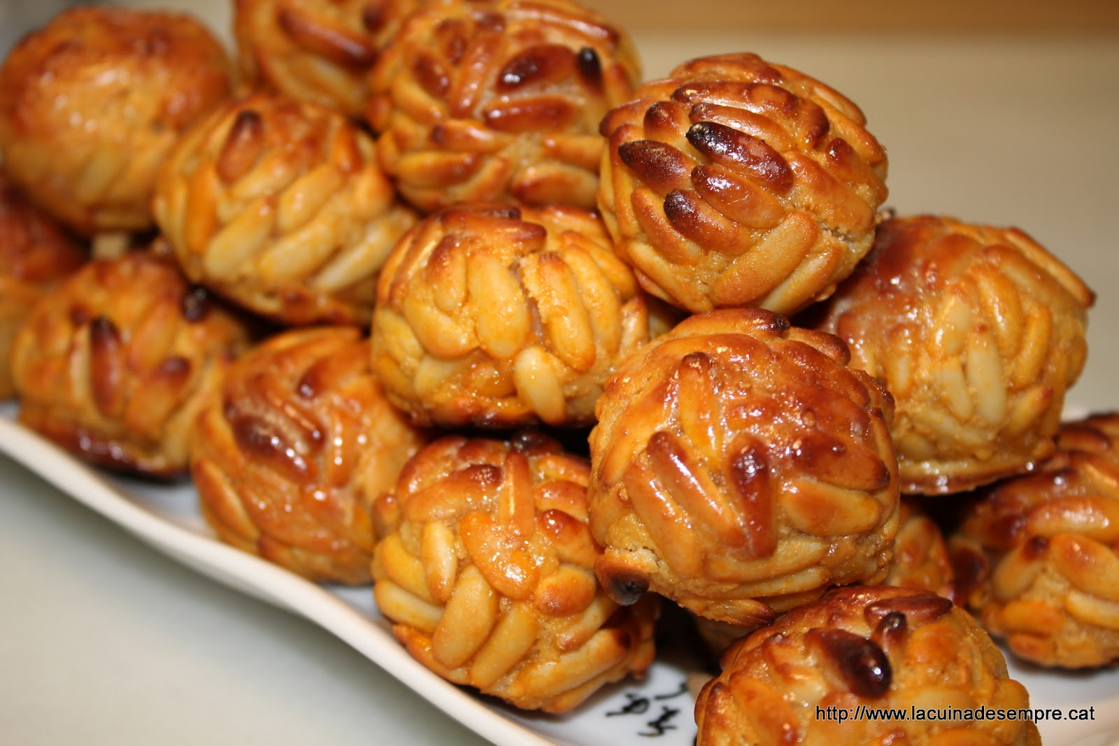 Panellets with Pine nuts